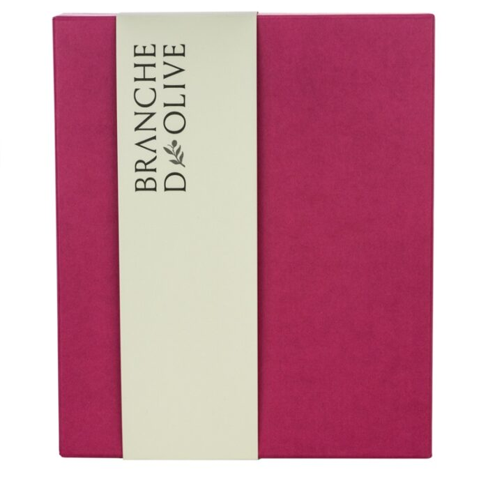 Branche d'Olive Gift Box in pink