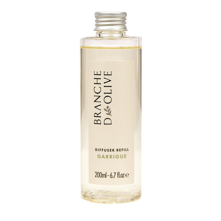 Branche d'Olive Garrigue fragranced Diffuser Refill bottle