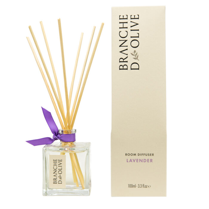 Branche d'Olive Lavender scented Room Diffuser with display box