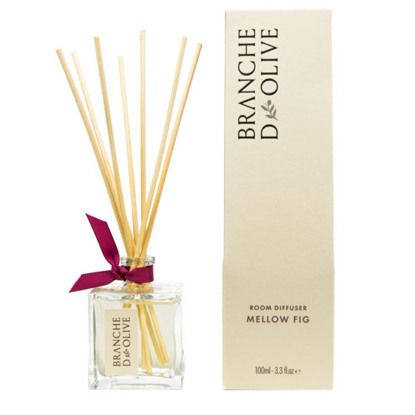 Branche d'Olive Mellow Fig scented Room Diffuser with display box
