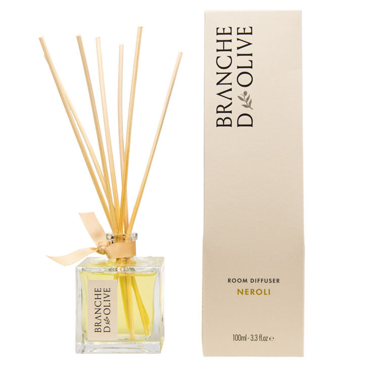 Branche d'Olive Neroli scented Room Diffuser with display box