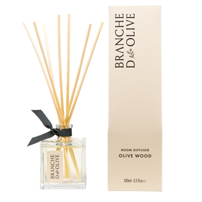 Branche d'Olive Olive Wood scented Room Diffuser with display box