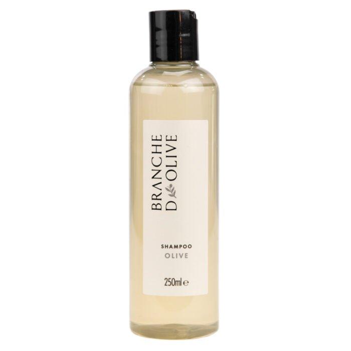 Bottle of Branche d'Olive Olive fragrance Shampoo
