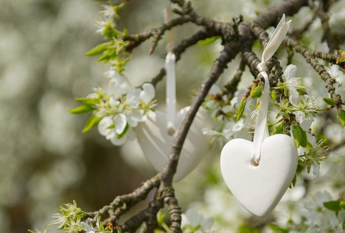 Scented Ceramic Hearts