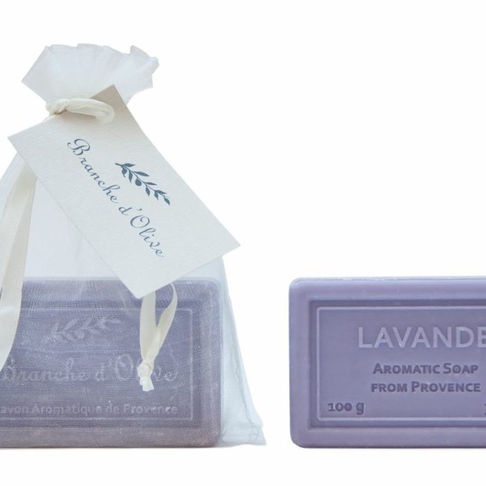 Bagged Hand Soap (100g/3.5oz) - Lavender (Mauve)-0