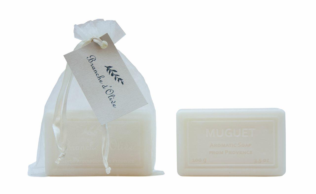 Bagged Hand Soap (100g/3.5oz) - Muguet (Lily/Valley)-0