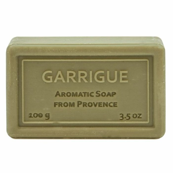 Wrapped Hand Soap (100g/3.5oz) - Garrigue (Citrus Cologne)-0