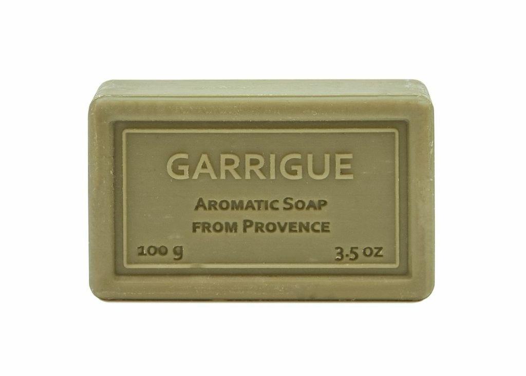 Wrapped Hand Soap (100g/3.5oz) - Garrigue (Citrus Cologne)-0