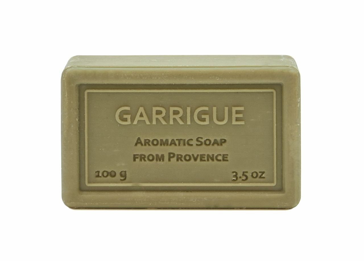 Bagged Hand Soap (100g/3.5oz) - Garrigue (Citrus Cologne)-935