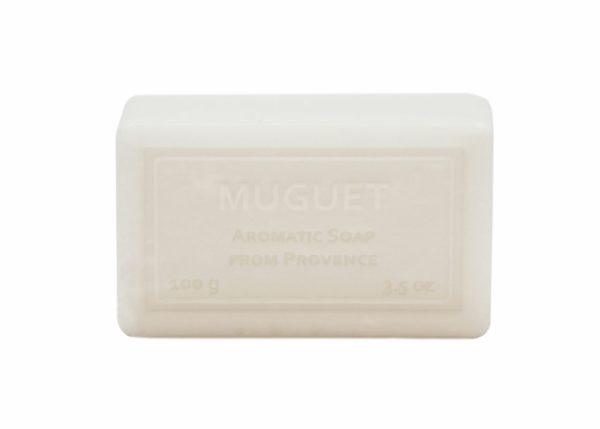 Wrapped Hand Soap (100g/3.5oz) - Muguet (Lily of the Valley)-0