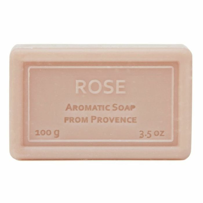 Wrapped Hand Soap (100g/3.5oz) - Rose-0